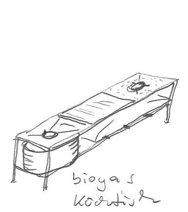 EOOS Biennale Biogas Kochtisch © EOOS