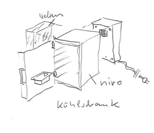 EOOS Biennale Kühlschrank © EOOS