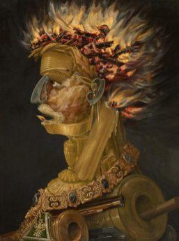"""""""Feuer"""" von Arcimboldo"""