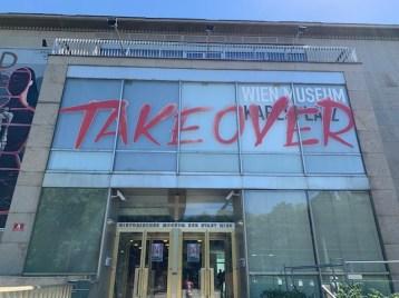 """Noch bis 1. September heißt es im alten Gebäude des Wiem Museums """"Take Over"""""""