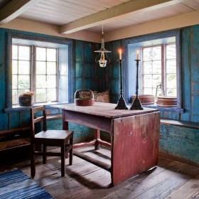 Motiv fra den blå stue i Kulturhaven