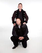 Kulturhavens grunnleggere - Jan Wilhelm Schüssler og Kjetil Strandabø