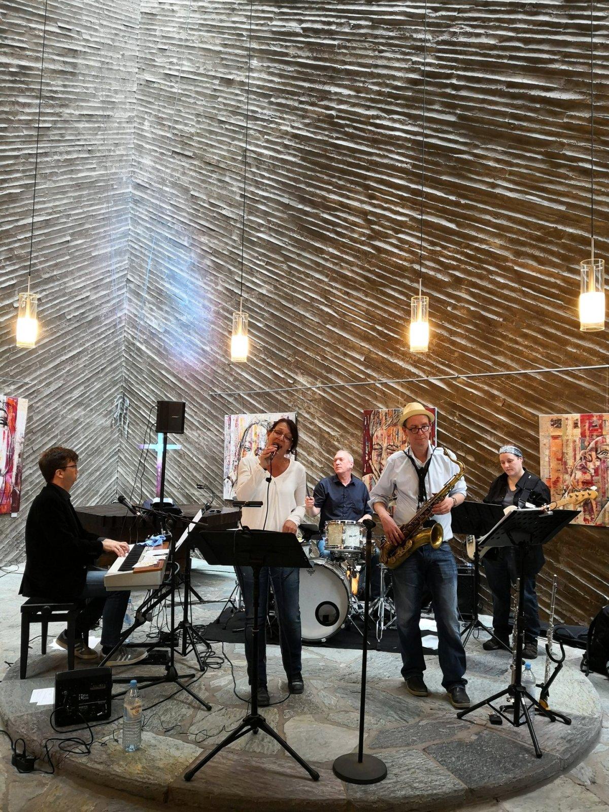 Mark Gierling Band Luther Gerhardt Kulturkirche Ost Köln GAG