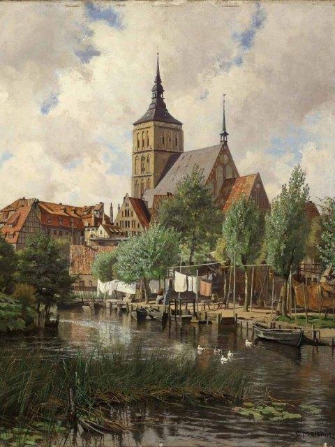 Carl Malchin, Nikolaikirche