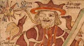 Varjú Odin vállán