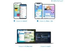 Screenshot der Website mit den Clients