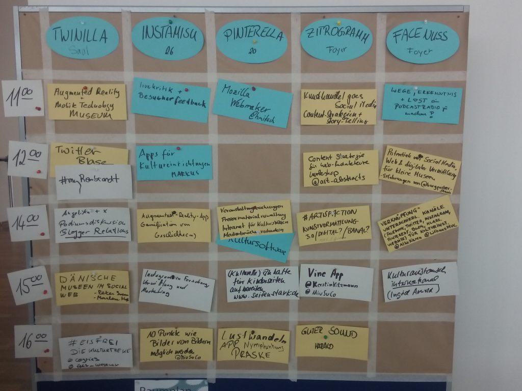 Sessionplanung #scmuc15