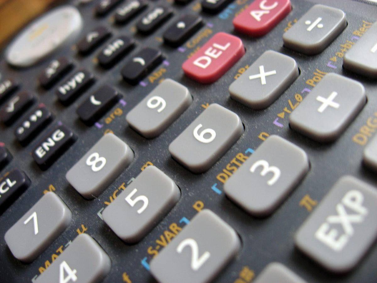 Taschenrechner, um den ROI auszurechen