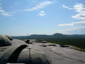 Rödbergsfortet, en del av Bodens fästning. Ett annat spännande och tänkvärt objekt.  Foto: Jenny Vestlund