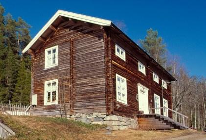 Anders Larsas hus i Gallejaur. Foto Daryoush Tahmasebi © Norrbottens museum