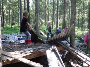 Lek  i skogen 2011