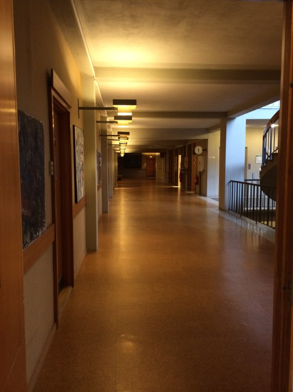 Korridor i stadshuset. Foto: Jennie Björklund © Norrbottens museum