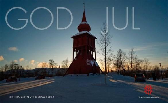 God Jul önskar Norrbottens museum