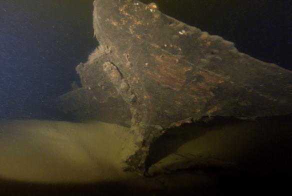3. Betydligt äldre var denna lilla klinkbyggda träbåt från tidigt 1800-tal.