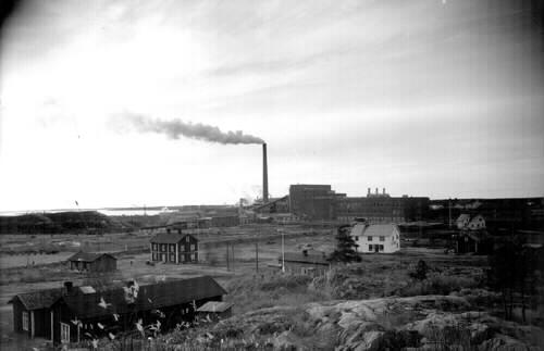 1981_548_Sulfatfabriken 1954