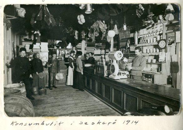 Bygdespegeln Seskar├Konsumbutik 1914123
