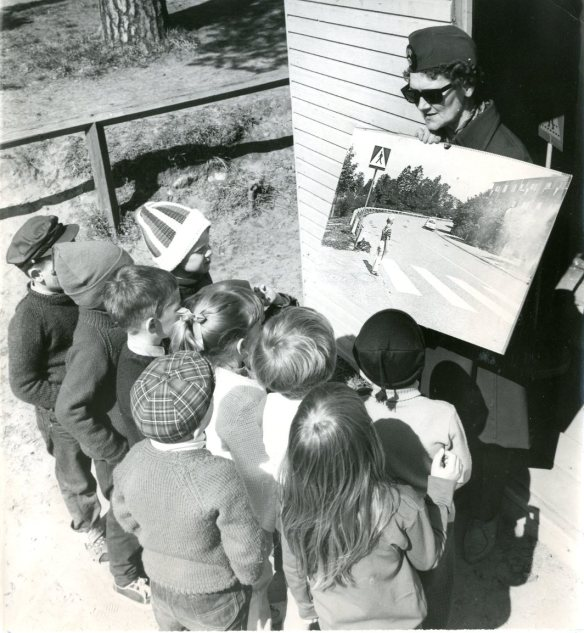 NSD 1968-05-30 Trafikskola för barn, fotograf okänd