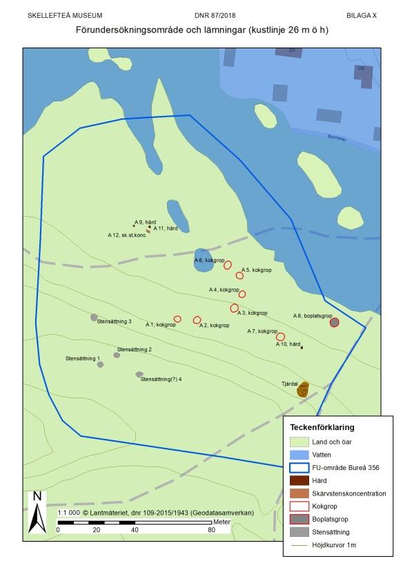 En möjlig naturhamn för ungefär 2700 år sedan (700 f.Kr.). Kanske väcktes intresset för platsen med den?