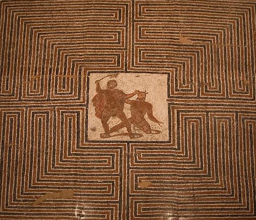 Grekisk mosaik