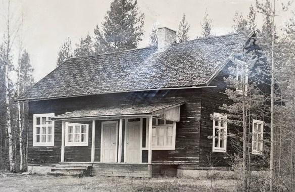 Missionshuset i Fällträsk, Niemisel uppfördes år 1926.