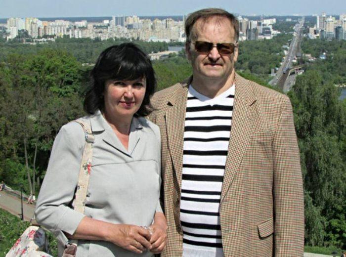 Юрий Зинчук с женой Галиной.