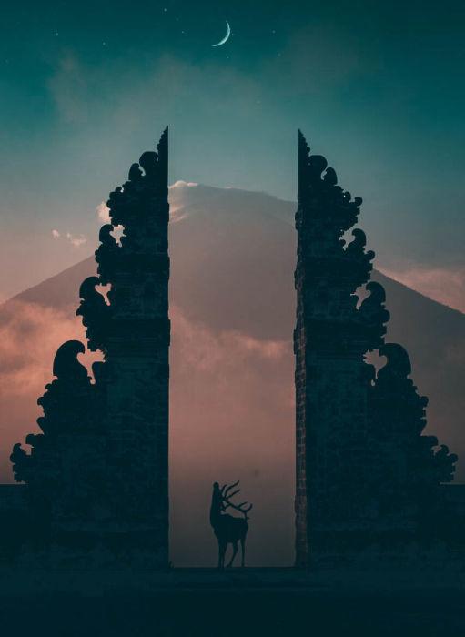 Мечты о Бали. Автор: Raka Wisnu Wardhana.