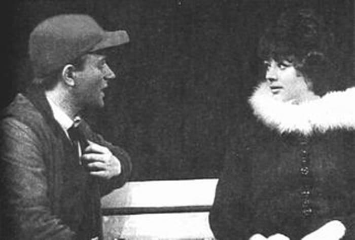 Андрей Миронов и Татьяна Егорова в спектакле *Над пропастью во ржи*, 1966 | Фото: bulvar.com.ua