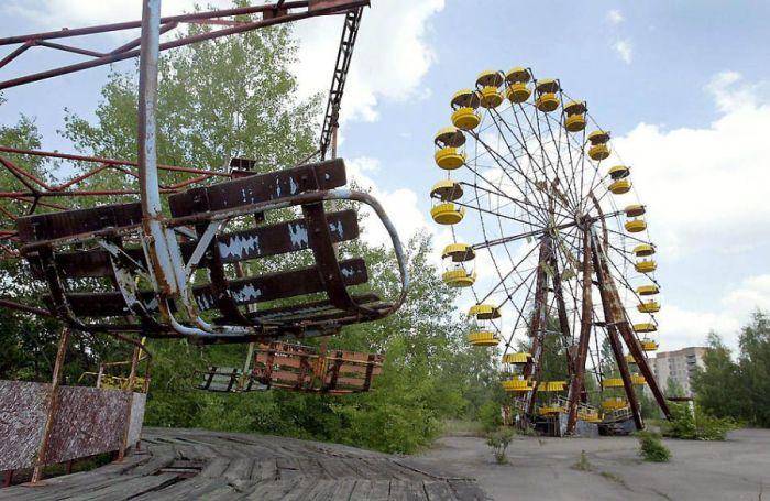 Колесо обозрения в Припяти.   Фото: news.bcm.ru.