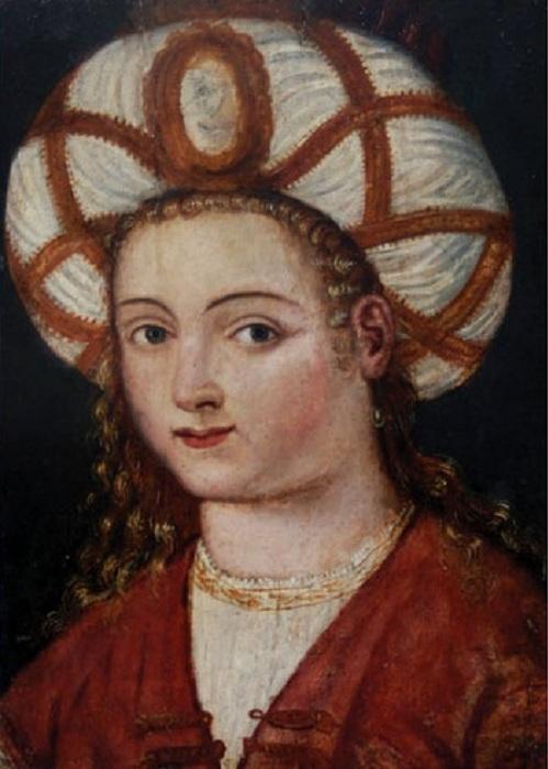 Роксолана. Неизвестный художник. Начало 16 века.