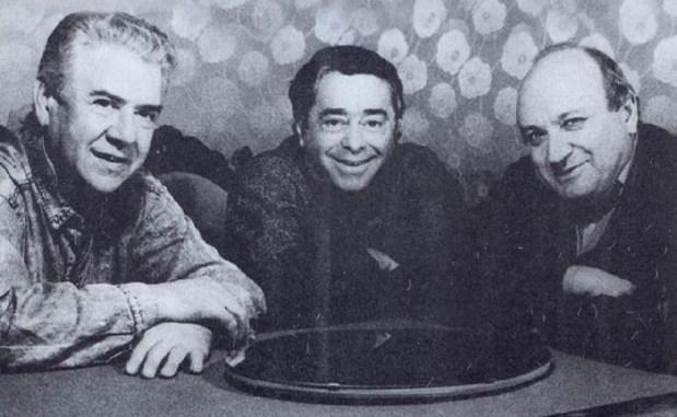 Ильченко, Карцев и Жванецкий.