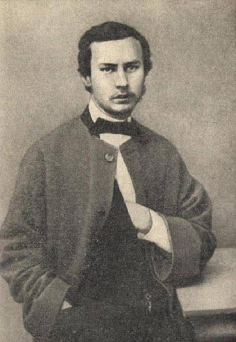 В.В.Верещагин — ученик Академии художеств 1860.