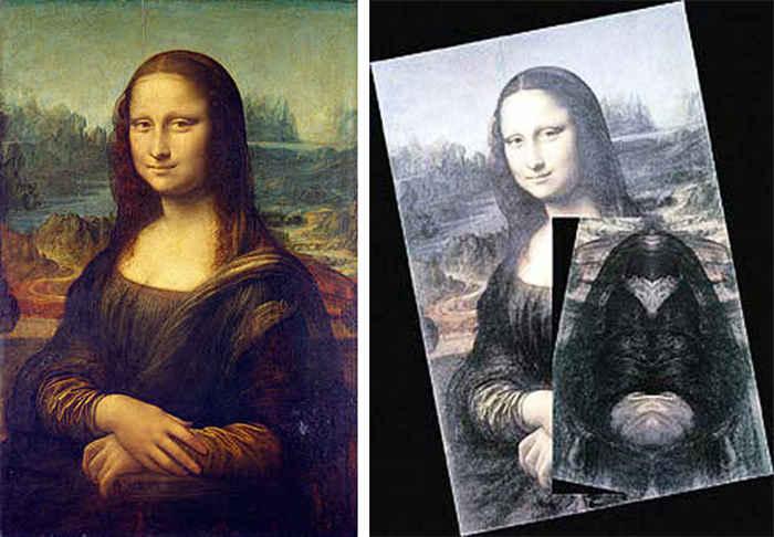 Зеркальный код Леонардо да Винчи. Монна Лиза.