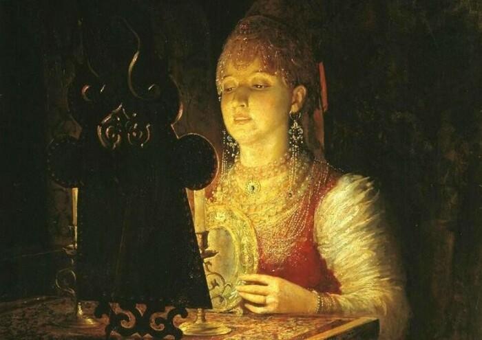 Зеркала связывали с магией и колдовством. /Фото: mtdata.ru