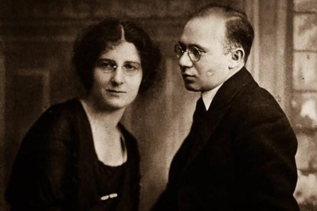 Голда Мабович и Моррисон Меерсон./Фото: bigkiev.com.ua