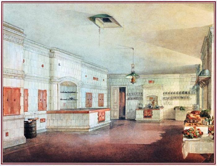 Императорская кухня. Зимний дворец./Фото: historyportal.ru