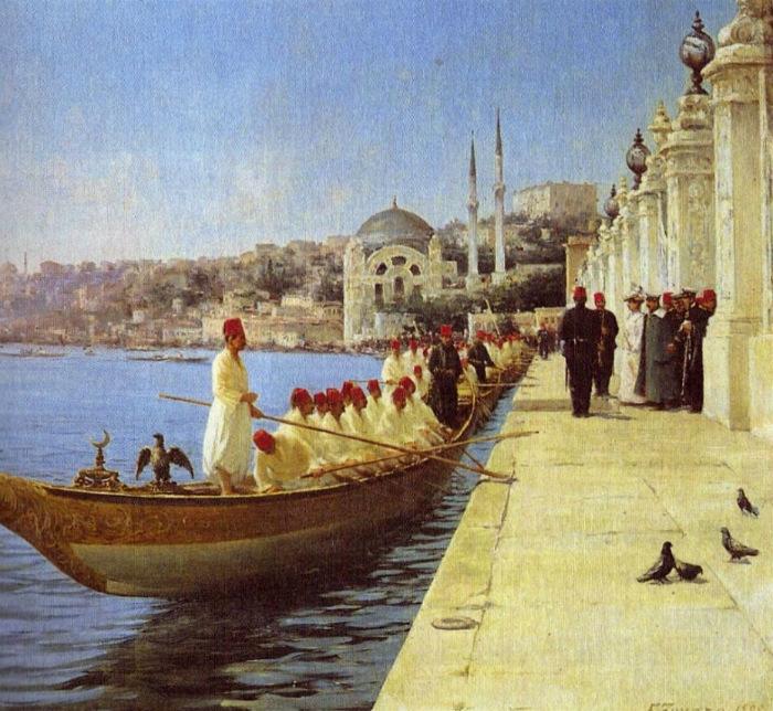 Лодки султана.