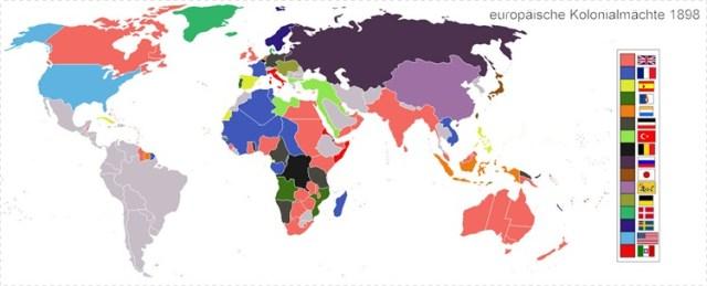 Die Erde von Europäer_innen besetzt
