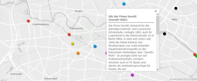 Postkoloniale Karte Berlin