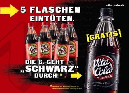 schwarz in der Werbung