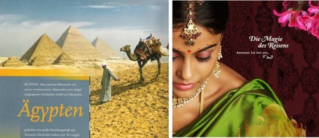 Orientalismus als Verkaufsargument in Reisekatalogen