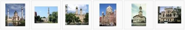 orientalistische Bauten in europäischen Städten