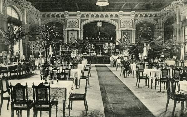 Zur Geschichte des Wartesaals im Harburger Fernbahnhof