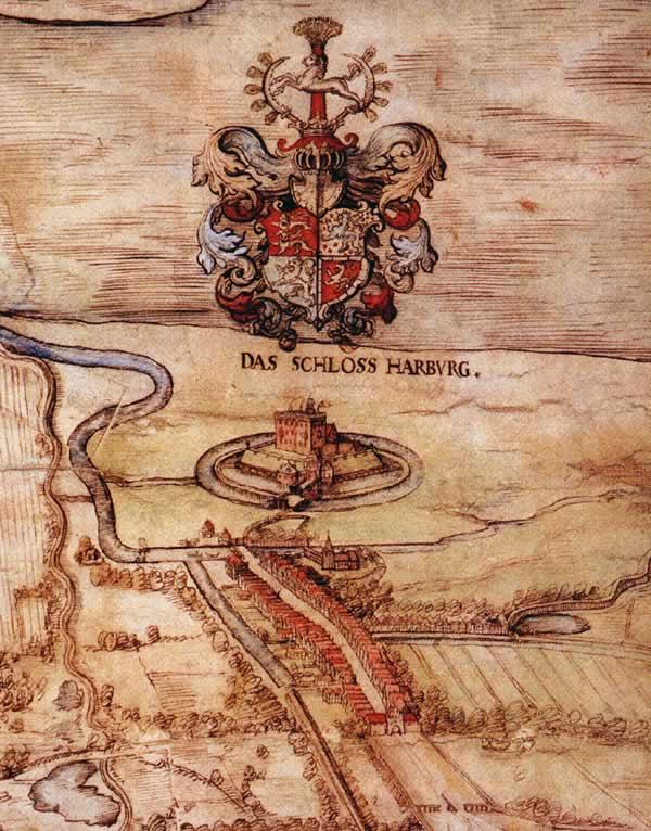 Harburger Stadtansicht - Daniel Freese - 1577