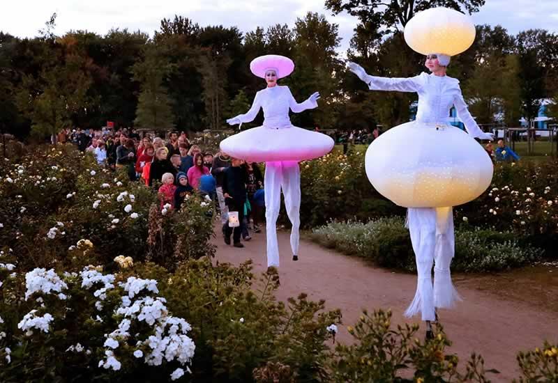 HERBSTLEUCHTEN – Lichterfest und Laternenumzug im Wilhelmsburger Inselpark