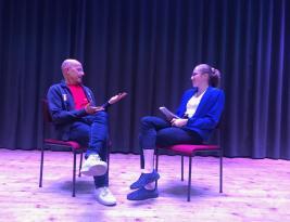 """09.05.2019: Interview zum Musical """"Das kleine Ich bin Ich"""" mit Norberto Bertassi"""