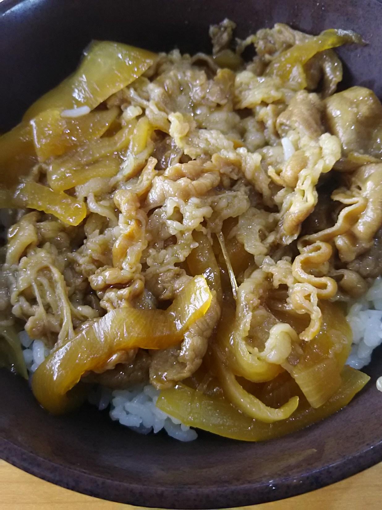 【くら寿司】牛丼
