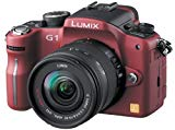 Panasonic デジタル一眼レフカメラ LUMIX (ルミックス) G1 レンズキット コンフォートレッド DMC-G1K-R
