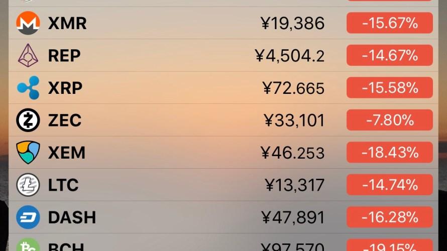 仮想通貨は終わりなのか。まだまだでしょ?