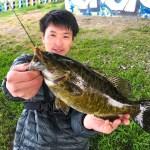 【全国バス釣り 東京都編】多摩川で40UPバスを狙ったら釣れた!他にも多摩川に春を知らせる魚とも遭遇