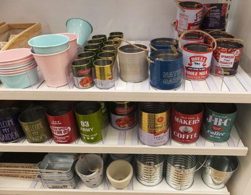 セリア 雑貨 空き缶